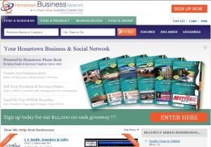 Hometown Business Network Homepage Screenshot (2)