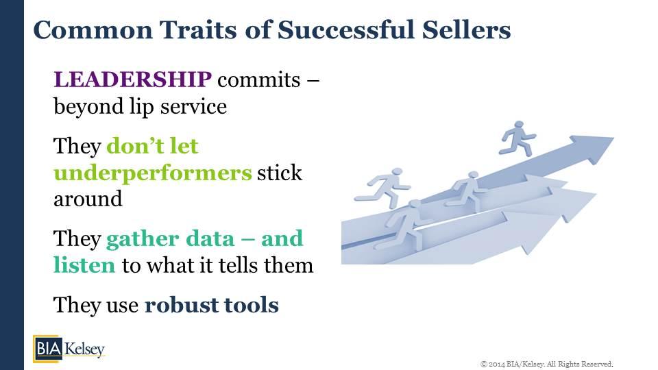 common seller traits